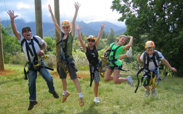 Princeville Ranch Adventures Ziplining
