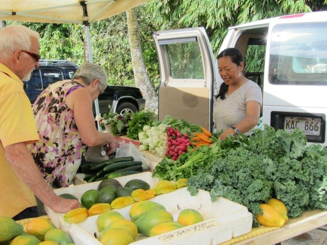 Farmers Markets on Kauai