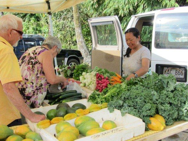 Farmers Market on Kauai