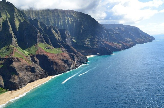 Boat Excursion Down the Na Pali Coast