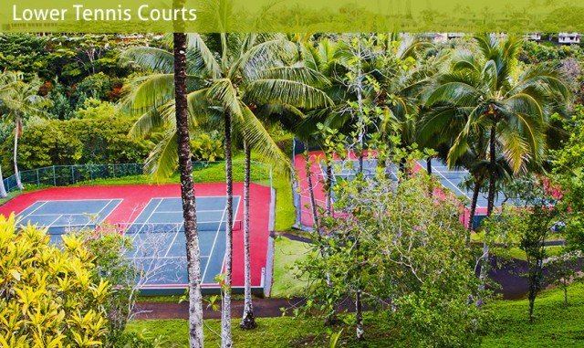 Hanalei Bay Resort Tennis - Princeville
