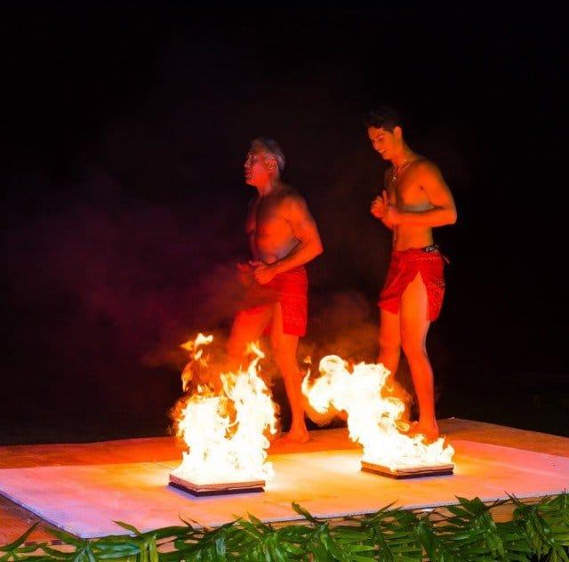 Anaina Hou Fire Show - Kilauea - Hawaii