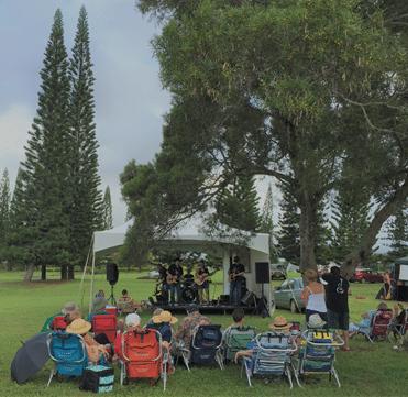 Music in the Park - Princeville, Kauai, Hawaii