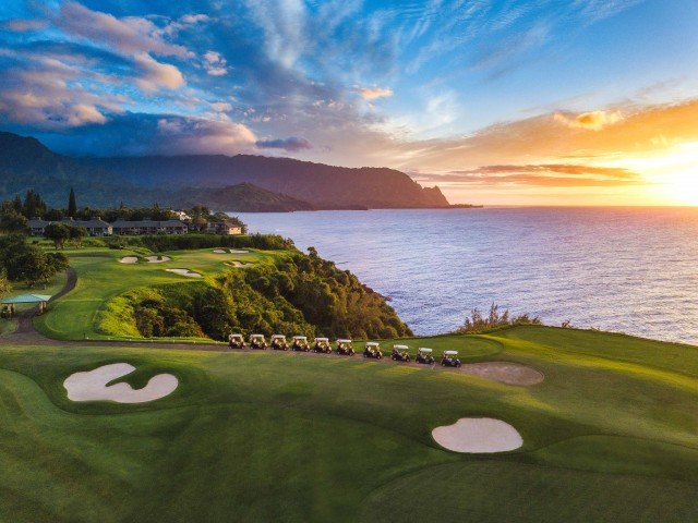 Princeville Golf Sunset Tour
